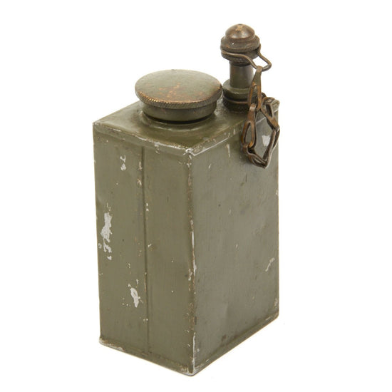Original WWII British Oil Container: Can, Half Pint, Mk II Original Items