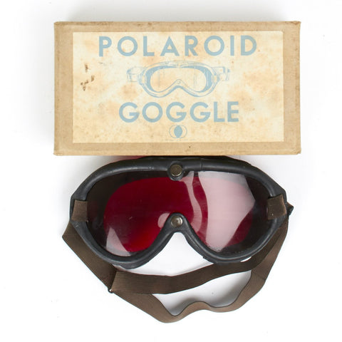 Original British WWII Type B8/M1944 Night Adaptation Goggle by Polaroid