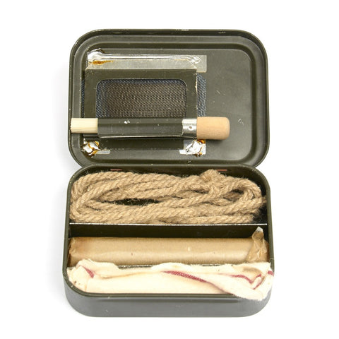 Original British WWII Type Rifle Cleaning Kit Mk I- Unissued Condition