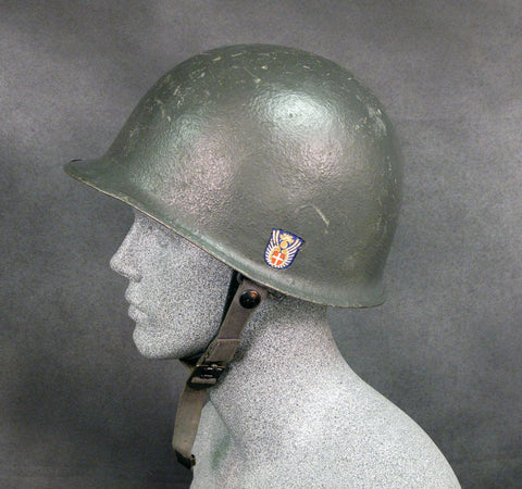 U.S. Style M1 Helmet with Liner: Danish M48 with Decal