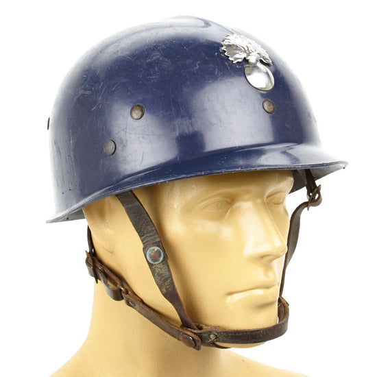 French Riot Helmet Paramilitary Issue
