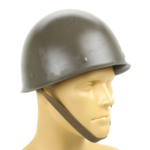 Original Finnish M62 Steel Combat Helmet