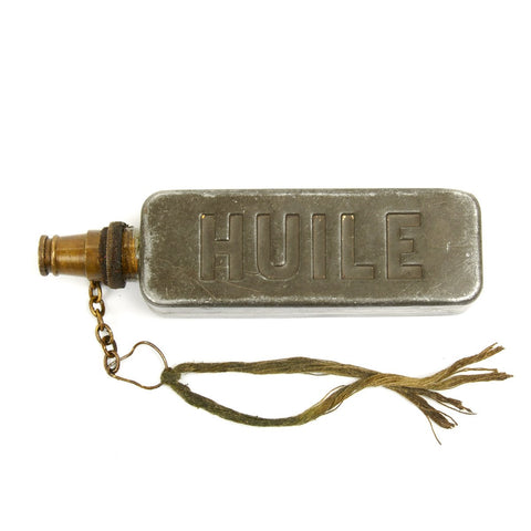 Original Fusil-Mitrailleur Modèle 1924 M29 Machine Gun Oil Bottle Original Items