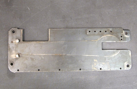 Original German WWI MG 08 Left Side Receiver Plate Marked DWM