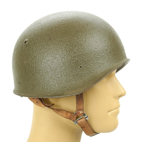 Original Swiss Model 1971 Steel Combat Helmet
