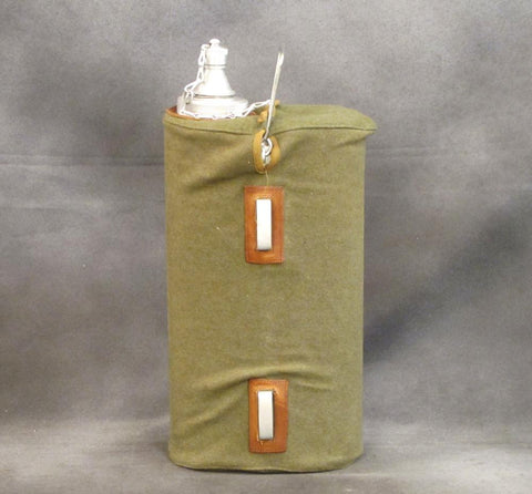 Italian WWII type Olive Oil Canteen- New Old Stock Original Items