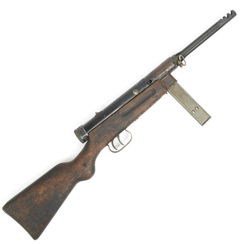 Original WWII German MP 738(i) Display SMG- Italian Beretta MP38/42 with Fluted Barrel