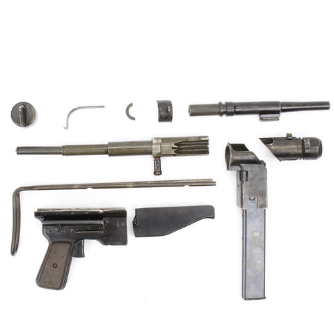 FBP 9mm SMG Parts Set with MP 40 Bolt & Recoil System & Bayonet Lug Original Items