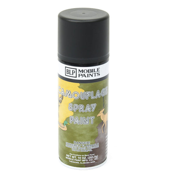 BLP Camouflage Spray Paint- Flat Black
