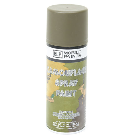 BLP Camouflage Spray Paint- Flat Olive Drab