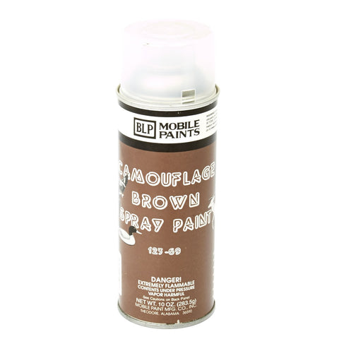 BLP Camouflage Spray Paint- Flat Mud Brown New Made Items