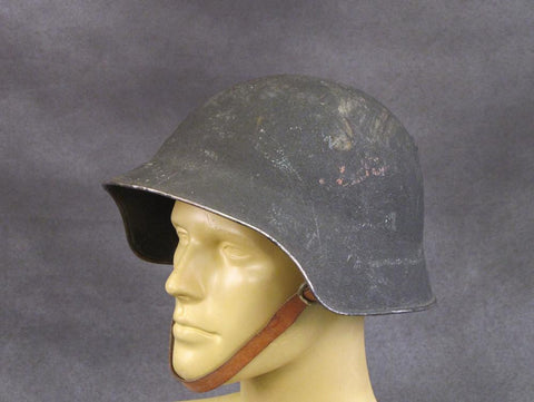 Swiss M18/40 Steel Combat Helmet with Full Ring Liner Original Items