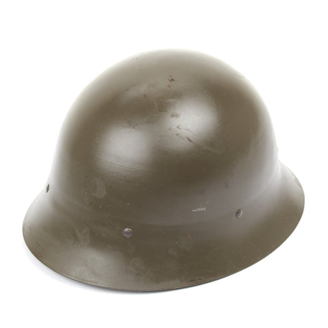 Original WWII type Swedish Model 1926 Steel Combat Helmet