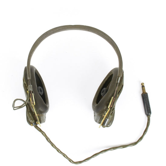 Original U.S. WWII Era H-16/U Headphone Set