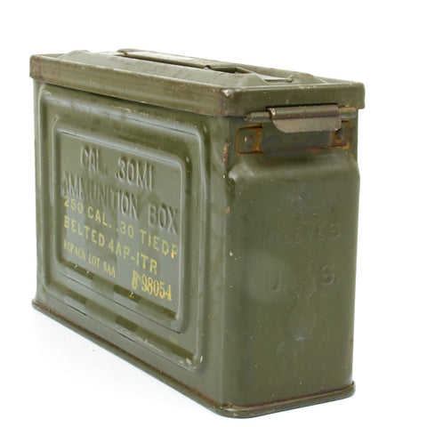 Original U.S. WWII .30 Caliber M1 Ammo Can by Canco or Reeves