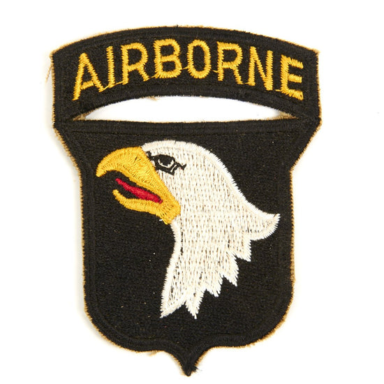 U.S. WWII 101st Airborne Division Shoulder Patch - Screaming Eagles New Made Items