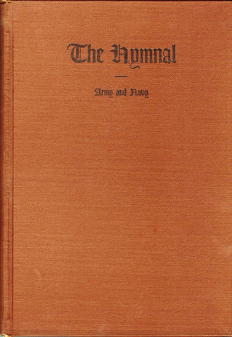 U.S. WWII Dated Army & Navy Hymnal: Unissued