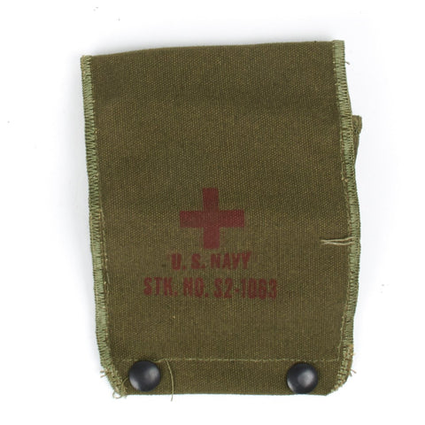 Original U.S. USN Naval Aviator First Aid Pouch