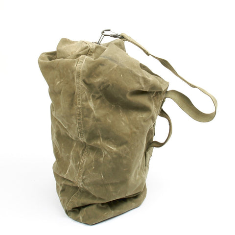 Original U.S. WWII Style Large Canvas Duffel Bag