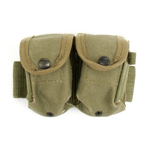 Original M1 Garand Rifle Dual Clip Belt Pouch Original Items