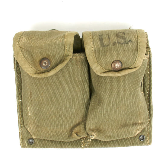 Original U.S. Manufactured ARVN Army of the Republic of Vietnam M14 Double Magazine Pouch
