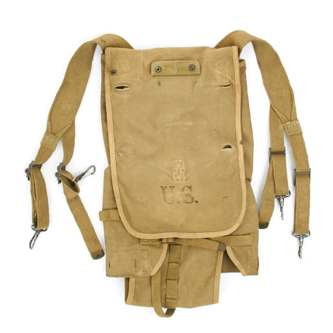 Original U.S. WWII Issue M1928 Haversack