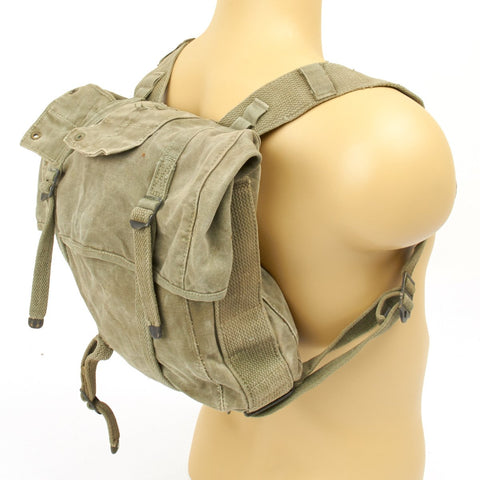 Original U.S. WWII M-1941 USMC 2nd Pattern Haversack - Upper Bag