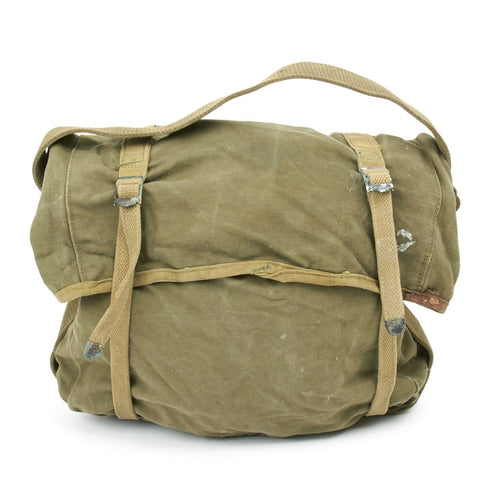 Original U.S. WWII M-1941 USMC 2nd Pattern Haversack - Lower Bag Original Items