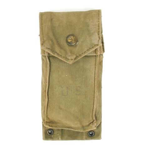 Original U.S. Vietnam Era M1961 USMC Ammunition Pouch Original Items