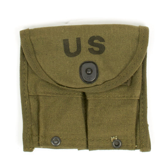 Original U.S. Vietnam War M-1 Carbine or Rifle Ammunition Magazine Pouch - F.S.N 8465-261-6922
