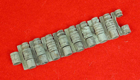 Metal Belt Links For WW 1 U.S. M1915 Vickers Aircraft Gun, Phosphate Finish Original Items