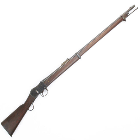 Original British P-1871 Martini-Henry MkII Short Lever Rifle (1880s Dates)- Cleaned & Complete