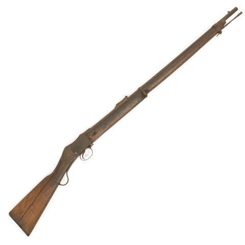 Original British P-1871 Martini-Henry MkII Short Lever Rifle (1880's Dated)- Untouched Condition Original Items