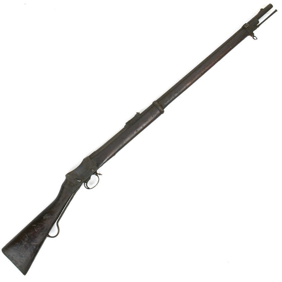 Original British P-1885 Martini-Henry MkIV Long Lever Rifle Pattern C - Untouched Condition