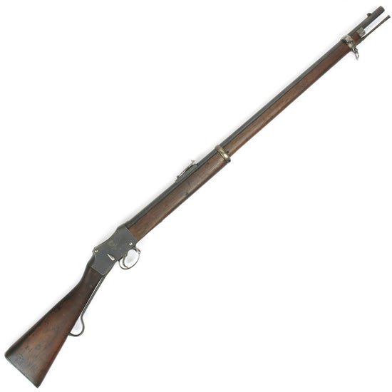 Original British P-1885 Martini-Henry MkIV Rifle Pattern A - Cleaned and Complete Condition Original Items