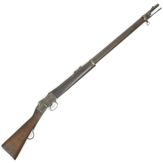 Original British P-1885 Martini-Henry MkIV Long Lever Rifle Pattern B- Cleaned and Complete Condition