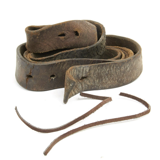Original East India Company Third Model Brown Bess and P-1842 Musket Leather Sling