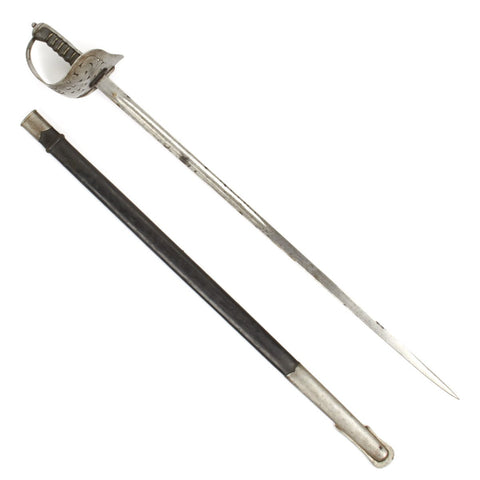 Original British P-1898 Infantry Edward VII Emperor of India ERI Cypher Sword Original Items