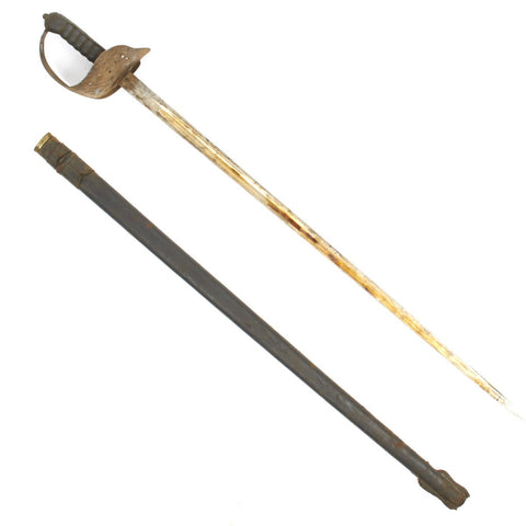 Original British P-1898 Infantry Queen Victoria VR Cypher Sword