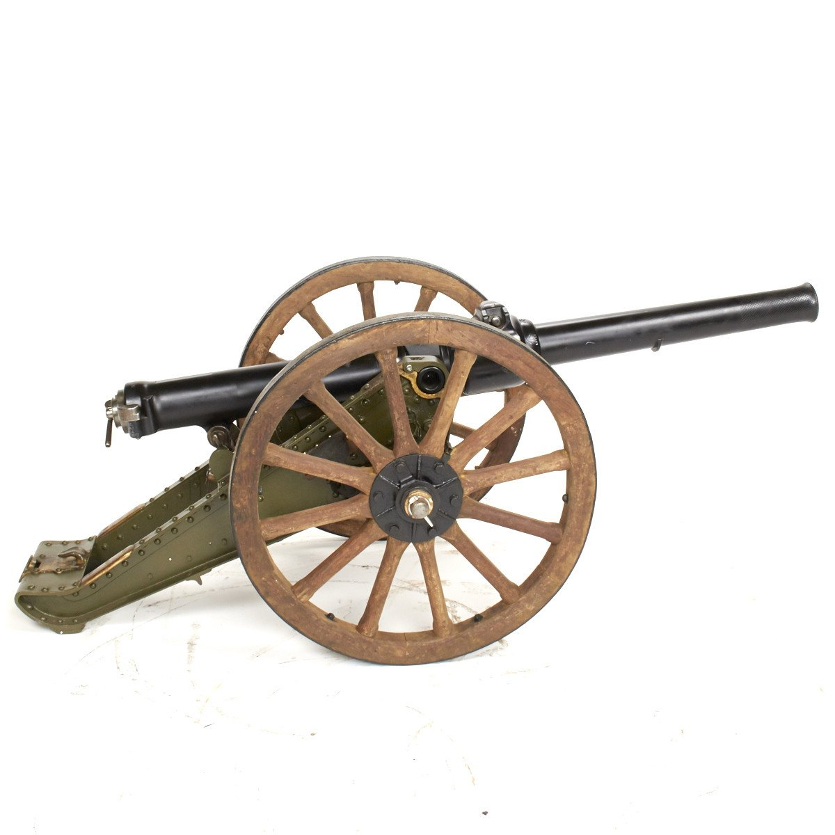 original british rml 2 5 inch 10 pounder jointed mountain cannon