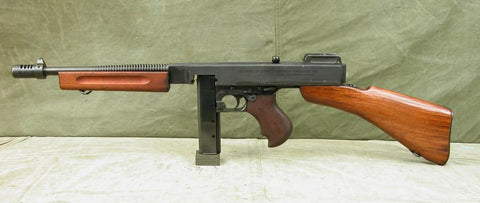 M1928A1 Thompson Submachine Gun With Dummy Receiver and Internal Parts