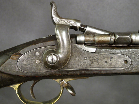 British P-1864 Snider Breech Loading Rifle: Tower Marked & 1854 Dated