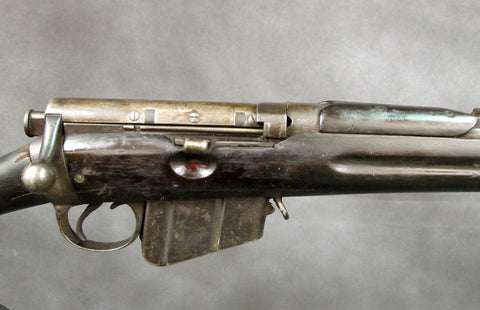British .303cal Lee-Metford MK.1* Magazine Rifle Dated 1890 with Bayonet & Scabbard: Cleaned & Complete Original Items