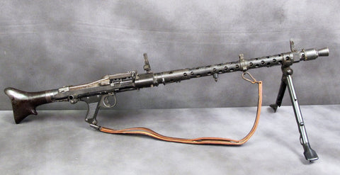 German MG 34 Display Machine Gun with Bakelite Butt Stock Original Items