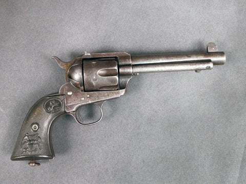 U.S. Colt Flat Top Revolver 1888 with Factory Document of Authenticity Original Items