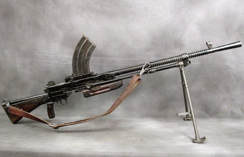 British Vickers-Berthier Display Light Machine Gun
