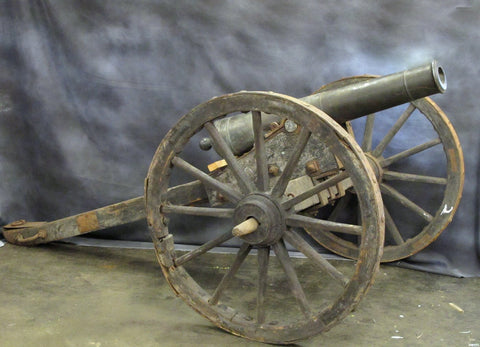 Chinese 6 Pounder Bronze Cannon circa Early 19th Century Original Items