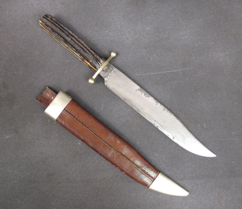 British Victorian Bowie Knife by J. Rodgers & Son
