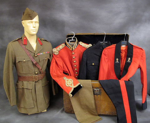 British WWII Royal Engineers Officer Named Uniform Set
