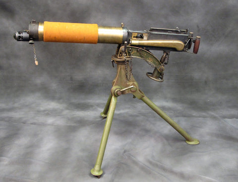 British WWII Vickers Jungle Issue Display Machine Gun with Tripod